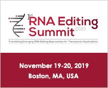1st RNA Editing Summit 2019