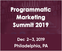 Programmatic Marketing Summit 2019