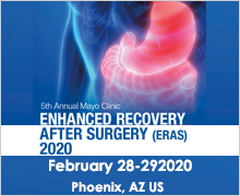 5th Annual Mayo Clinic Enhanced Recovery After Surgery (ERAS) Conference