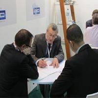 A.J. Costa at Arab Health 2015