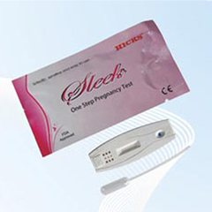 Pregnancy Test Card