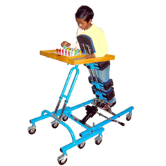 Standing Positioner With Activity Tray, Child (Three-In-One)