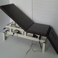 HIGH-LOW TREATMENT TABLE (Electrical with Retractable Casters)