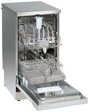 Thermal disinfection washers for dental instruments
