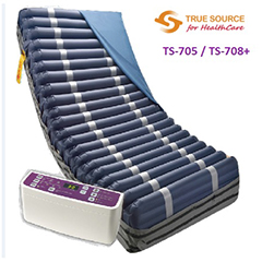 TS-705 / TS-708+ Advanced Digital Alternating Air Mattress & Pump System